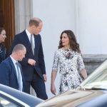 The royals met with five survivors including two who had travelled over from London Photo C GETTY IMAGES