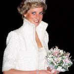 The three strand pearl bracelet was originally worn by Princess Diana pictured in Hong Kong in 1989 and was designed by British jeweller Nigel Milne