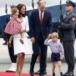 The visit to Poland offers the family a final chance to travel together on official business before George starts school