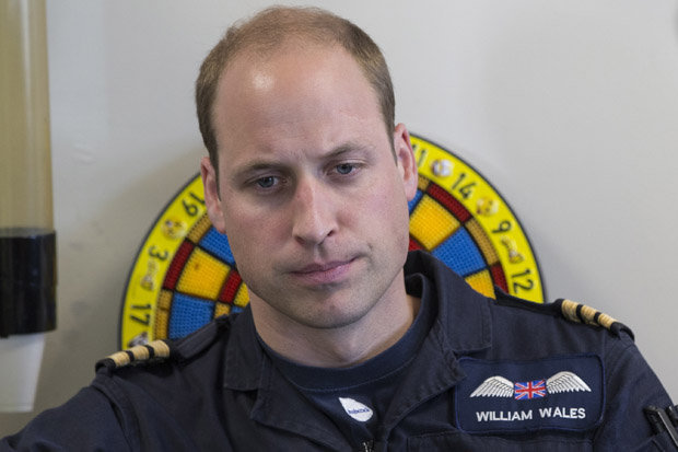 The woman died hours after William's last shift Photo (C) GETTY