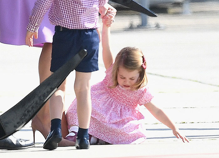The young royal impressed crowds across the world with her sweet charm over the past few days. Photo (C) GETTY IMAGES