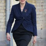 Theresa May all smiles as she arrives at the Menin Gate in Ypres Image PA