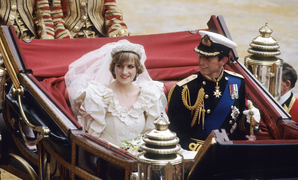 Wedding Prince Charles and Princess Diana Photo (C) GETTY IMAGES