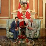 When Charles met the premier Mr Trudeau apologised for the weather and the prince replied saying Its unbelievable