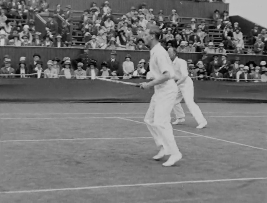 When The Future King Of England Played At Wimbledon... And Lost Photo (C) GETTY IMAGES