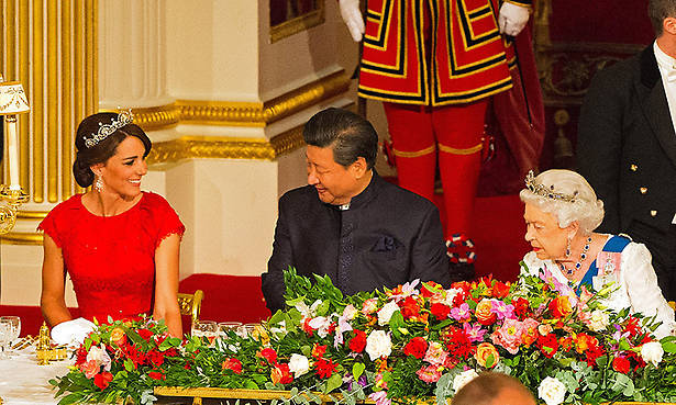 Will Kate attend the Queen's state banquet for King Felipe and Queen Letizia of Spain Photo (C) GETTY IMAGES