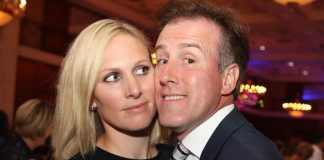 Zara Tindall and Anton du Beke took to the floor at a star studded charity event Photo C STEVE POPE FOTOWALES