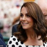 t he had an enthusiastic supporter in the form of the Duchess of Cambridge