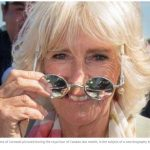 the Duchess of Cornwall pictured during the royal tour of Canada last month is the subject of a new biography by Penny Junor