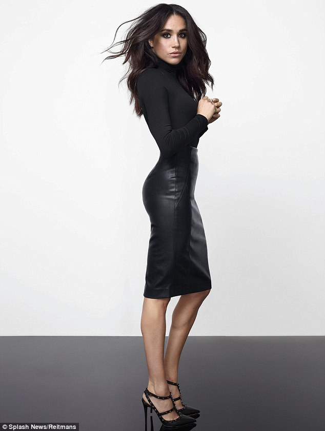 Meghan Markle: the launch of my new clothing line based on the sort of smart, sexy clothes my character Rachel wears in Suits'