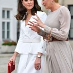 where she had the chance to get to know the Polish First Lady Agata Duda