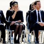 1 Dutch King Willem Alexander and Queen Maxima at the airbase in Photo C GETTY IMAGES