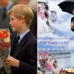 A 12 year old Harry in 1997 and pictured yesterday ahead of the 20th anniversary of his mother's death Picture PA REX