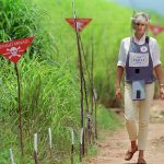 Another key cause later in Diana's life was tackling the lethal landmines that littered war zones in Angola Africa and the former Yugoslavia Photo C GETTY IMAGES