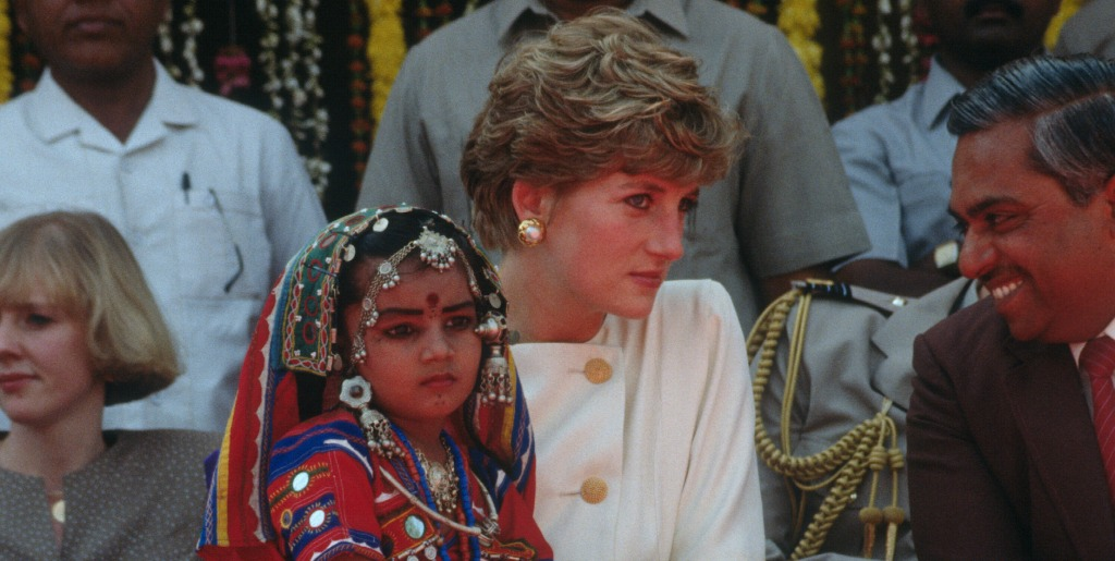 Avanti Reddy is all grown up and remembering her special day as Princess Diana's 'daughter' in India Photo (C) GETTY IMAGES