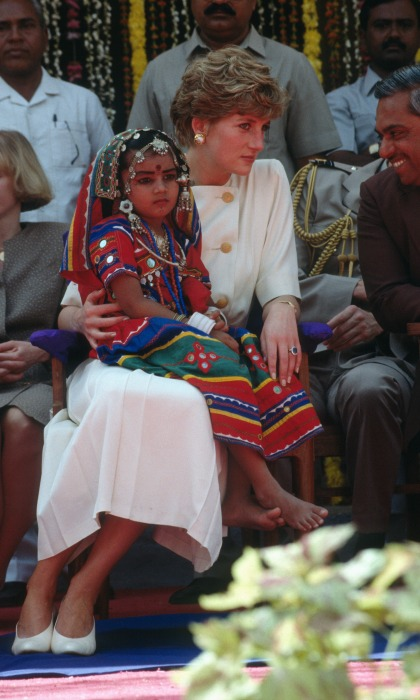 Diana visited India in 1992 with Prince Charles Photo C GETTY IMAGES