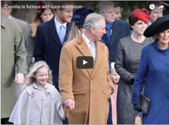 Camilla is furious with kate middleton