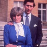 Charles and Diana announce their engagement in 1981 Photo C GETTY