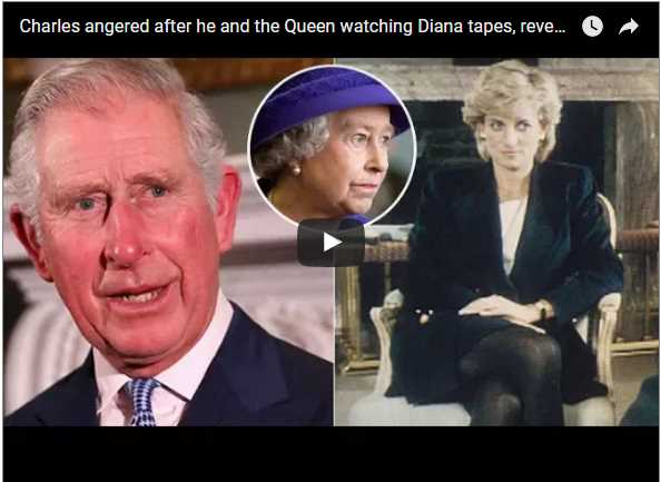 Charles angered after he and the Queen watching Diana tapes, reveals Royal butler