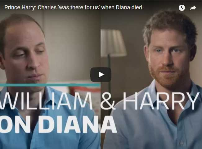 Charles was there for us when Diana died
