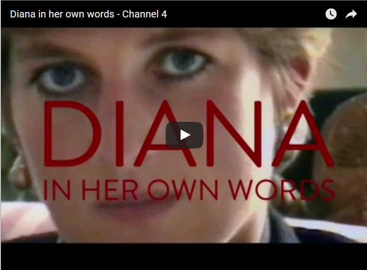 Diana in her own words Channel 4