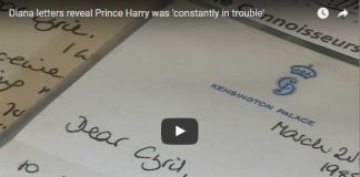 Diana letters reveal Prince Harry was 'constantly in trouble'