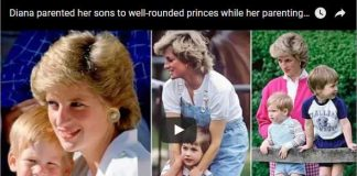 Diana parented her sons to well-rounded princes while her parenting skills were very normal