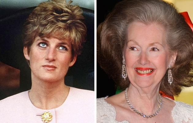 Diana stepmother Raine Spencer Photo (C) GETTY IMAGES
