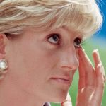Diana undertakes one of her last formal engagements at the American Red Cross in Washington in June 1997