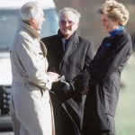 Dickie and Diana pictured in March 1990 Photo C GETTY IMAGES