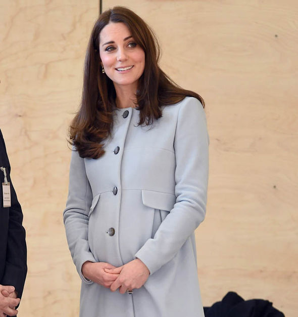 Duchess of Cambridge pregnant Photo (C) GETTY