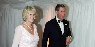 During the explosive interviews with Mr Settelen Diana also discusses Charles relationship with Camilla Parker Bowles. Pictured the pair together in 2000