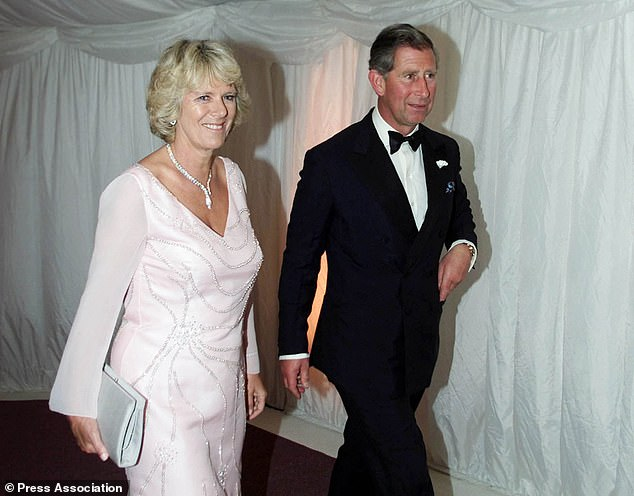 The Prince of Wales and Camilla Parker Bowles walk through to The Gala Dinner at The Prince's Foundation in London. Camilla Parker Bowles accompanied the Prince of Wales to the Gala Dinner. * which marks the official opening of the newly restored building which is the headquarters of The Prince's Foundation.