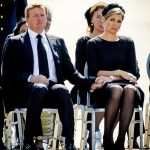 Dutch King Willem Alexander and Queen Maxima at the airbase in Photo C GETTY IMAGES