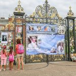 Fans have paid tribute to Diana at Kensington Palace Photo C GETTY IMAGES
