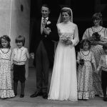 Fellowes on her wedding day with Diana as a bridesmaid Photo C PA IMAGES VIA GETTY IMAGES
