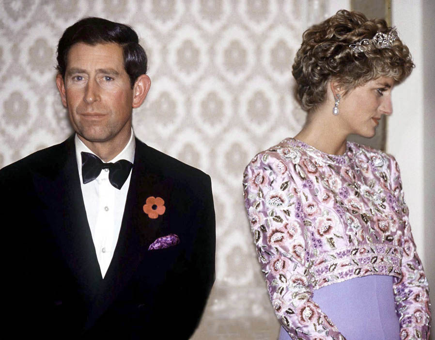 Getty Images Prince Charles and Princess Diana on their last official trip together, 1992 Photo (C) GETTY