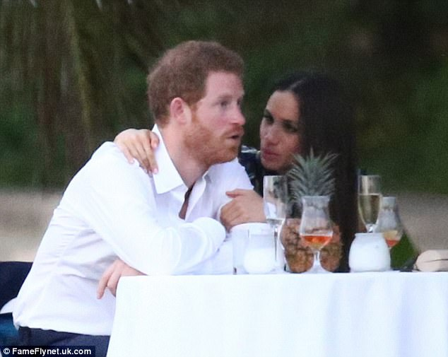 Harry and Meghan enjoy a quiet moment together, but the prince's in-law Mike says the pair won't buckle under public scrutiny