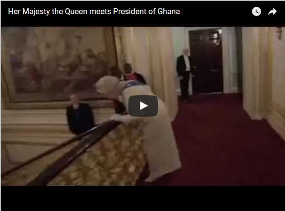 Her Majesty the Queen meets President of Ghana