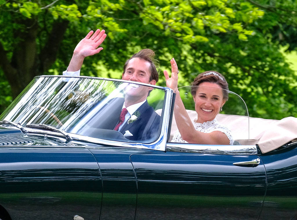 Honeymoon season is alive and well for Pippa Middleton and James Matthews Photo (C) GETTY