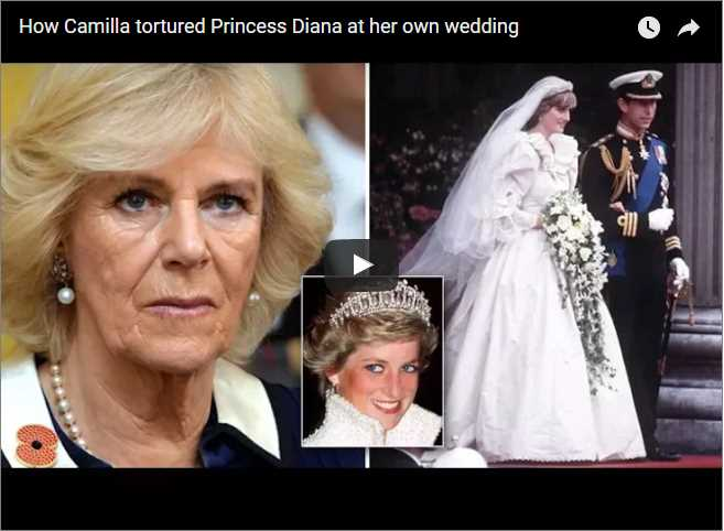 How Camilla tortured Princess Diana at her own wedding