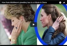How Catherine Duchess of Cambridge's jewellery box is a tribute to Diana