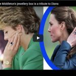 How Catherine Duchess of Cambridges jewellery box is a tribute to Diana