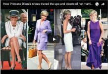 How Princess Diana's shoes traced the ups and downs of her marriage