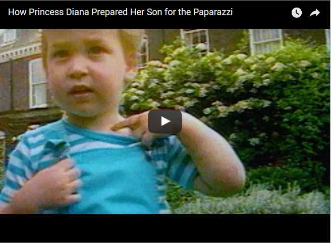 How Princess Diana Prepared Her Son for the Paparazzi