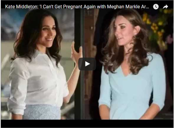 I Cant Get Pregnant Again with Meghan Markle Around