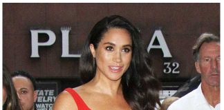 In the latest series of Suits, her character Rachel Zane, stripped off for a mature scene, which is sure to have raised a few eyebrows in the royal household Photo (C) GETTY