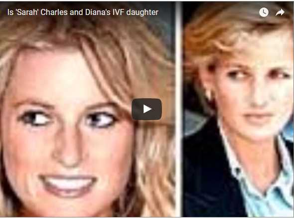 Is Sarah Charles and Dianas IVF daughter