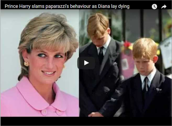 It's hard to forget the paparazzi's treatment of Princess Diana right up to – and during – her death