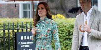 Kate, Duchess of Cambridge, visits Princess Diana's memorial garden Photo (C) GETTY